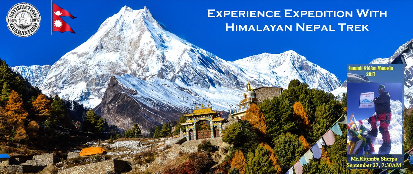 Manaslu Expedition 44 Days